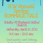 UCW Annual Spring Rummage Sale (3)