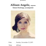 2015-11-15 Allison Angelo Poster